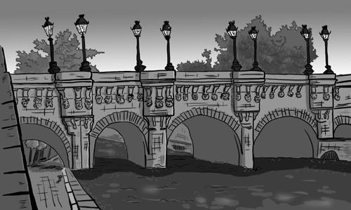 pont neuf dessin brrrtel
