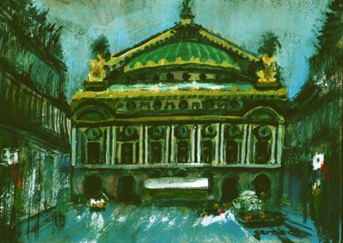 opera de paris peinture
