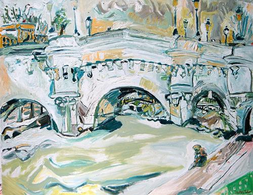 pont neuf peinture