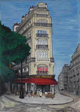 cafe francoeur peinture