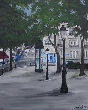 peinture caulaincourt