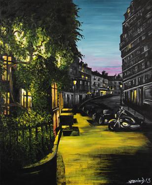 rue lepic peinture montmartre