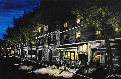 caulaincourt nuit peinture