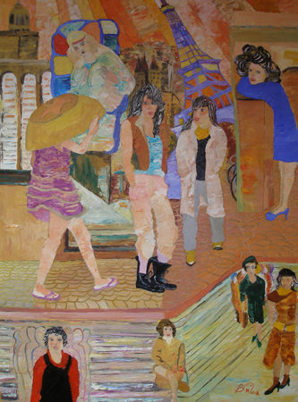 saint michel paris peinture