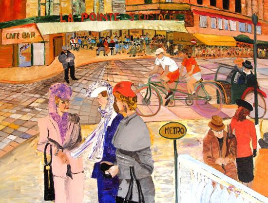 peinture brasserie saint eustache