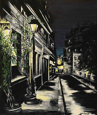 rue lepic peinture