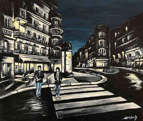 rue lamarck peinture