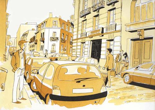 illustration paris 16