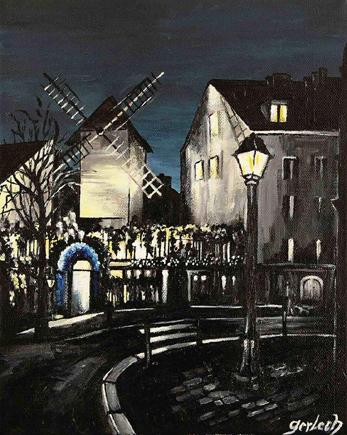 moulin galette peinture