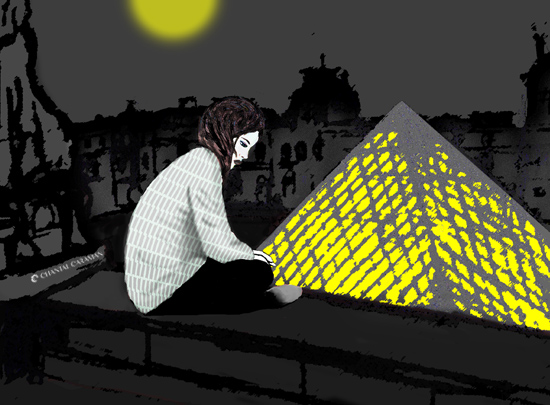 louvre illustration