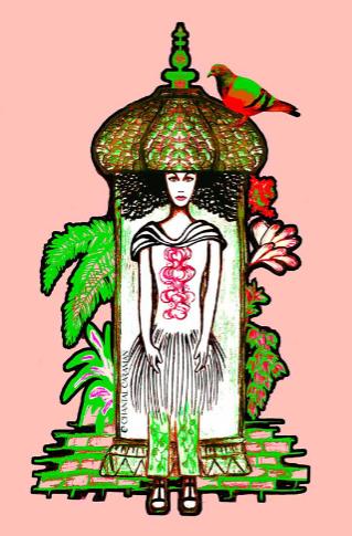 illustration colonne morris
