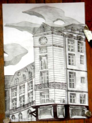 dessin immeuble victoires
