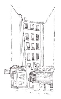 dessin rue de pyrenees
